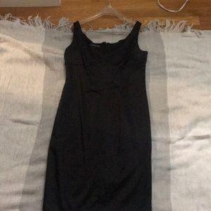Black silk sheath